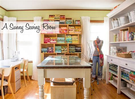 craft sewing room a sewing room and folding fabrics to size