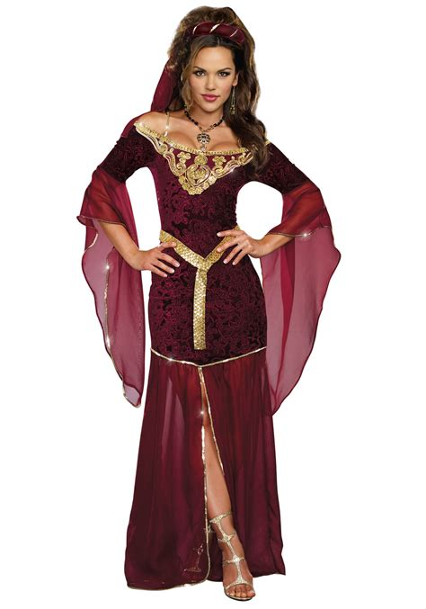 women s women s medieval enchantress costume