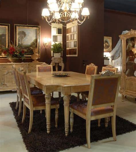 sedie imbottite per sala da pranzo tavolo con sedie imbottite per sala da pranzo classico di