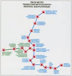 south caucasus map tbilisi metro urbanrail net
