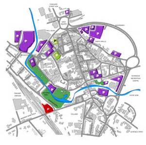 map of stafford a tourists guide to stafford