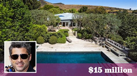 patrick dempsey house patrick dempsey s malibu spread goes for 500 000 over the asking price la times
