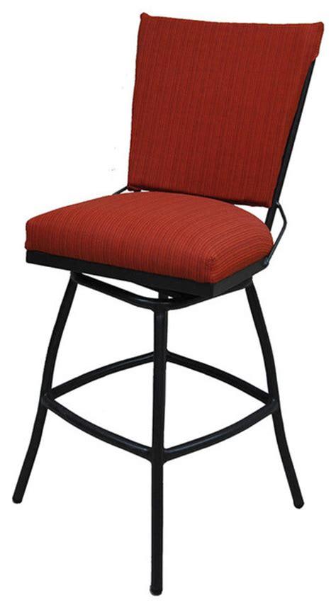 armless spectator height stool with desert frame