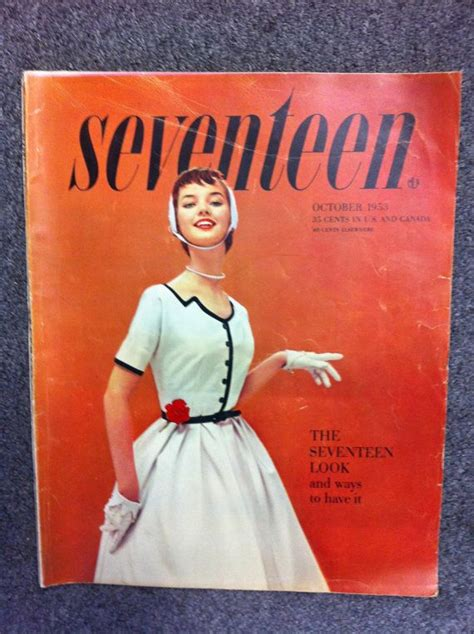 In Style New Magazine Targeting Late by Seventeen Magazine 1950s Fashion Magazine Vintage