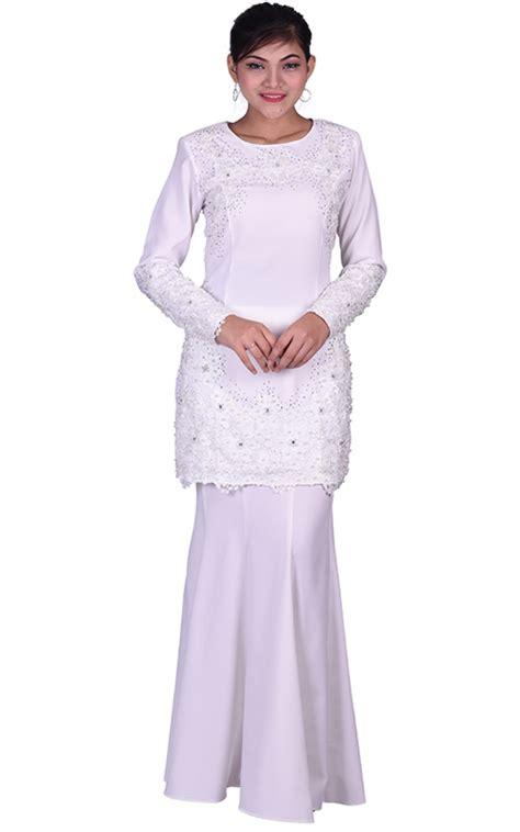 Baju White Baju Kurung Mini White Baju Kurung