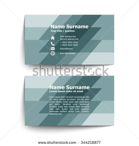 Temple Business Card Template by Business Card Abstract Background Templete Vector Stock