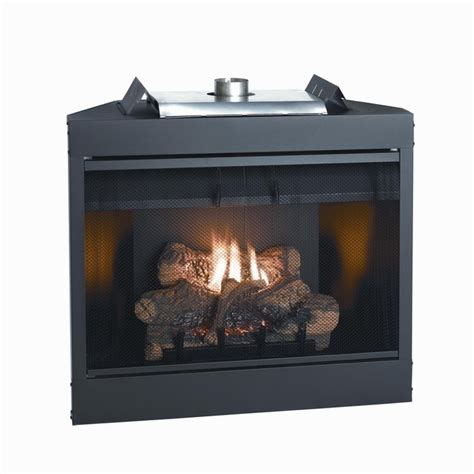 empire keystone deluxe b vent flush gas fireplace 34