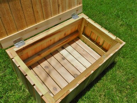 how to build an outdoor storage bench best 25 outside storage bench ideas on pinterest