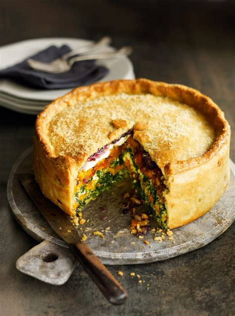 Tere Puff butternut squash spinach and goat s cheese pie