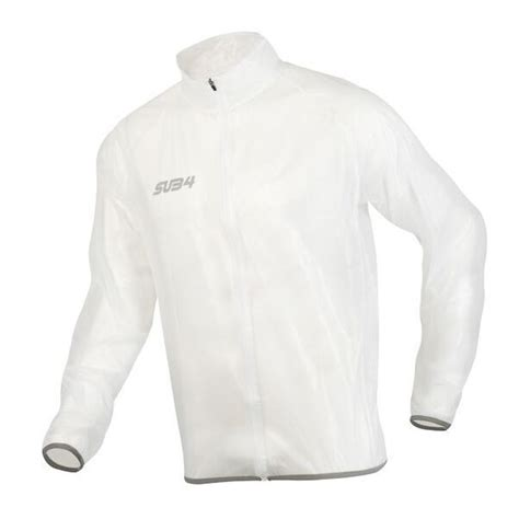 clear cycling jacket sub4 mens running cycling rain jacket clear online