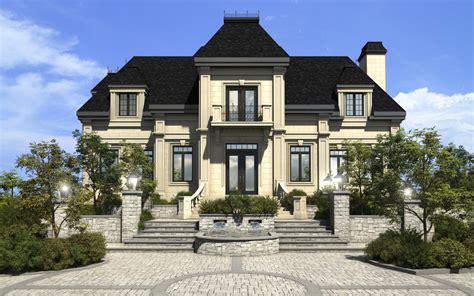 Style Of Homes maison 3d montr 233 al habitation prestige 3d b 233 ton avac pierre