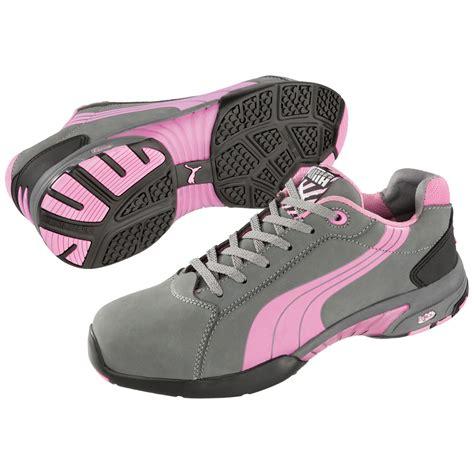 balance womens low steel toe work shoe 642865