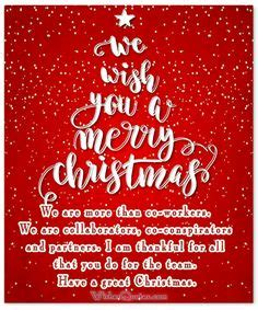 merry christmas quote   coworkers christmas merry christmas christmas quotes seasons
