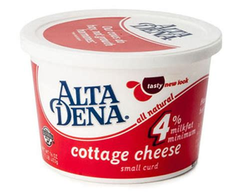 4 cottage cheese nutrition alta dena
