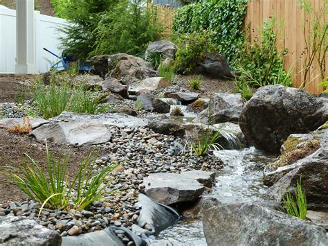 Backyard Fish Pond Maintenance Case Study Pondless Stream Creative Landscapes Inc
