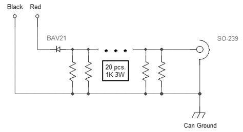 power resistor construction dummy load construction