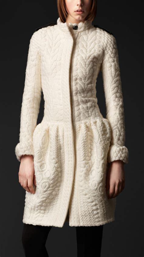 knit coat burberry prorsum clothes fashion
