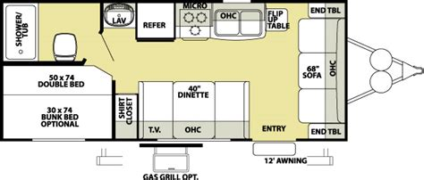 wildwood travel trailer floor plans wildwood travel trailers info on floor plans options