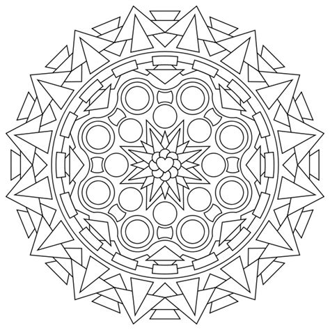 free mandala coloring pages what s your sign free printable mandala coloring pages