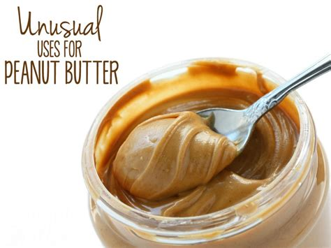can i give my peanut butter 10 uses for peanut butter