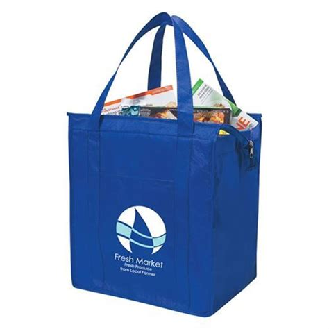 Tote Bag Book Custom Tote Bag Water Resistant Tahan Air water resistant recyclable non woven insulated shopper tote bag