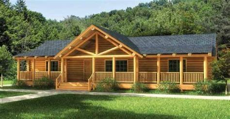 one story log home floor plans finally a one story log home that has it all click to