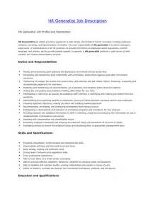 Best Resume Format For Hr Generalist by Resume Template Senior Hr Generalist Resume Entry Level Hr