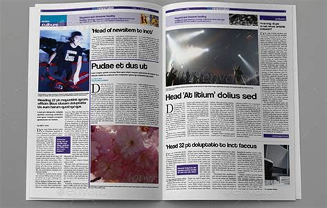 tabloid template 18 great indesign newspaper templates desiznworld