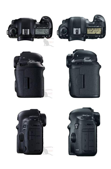 canon 5d 3 canon 5d iv vs 5d iii comparison basic specs