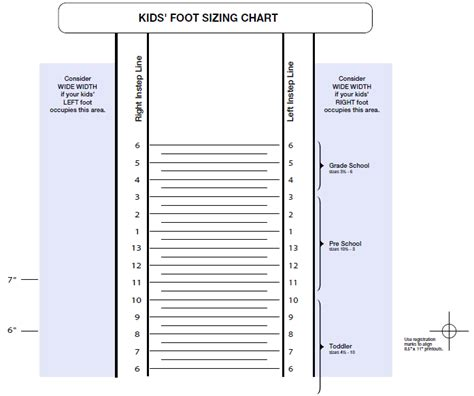 print out shoe size chart printable adult shoe size chart www imgkid com the