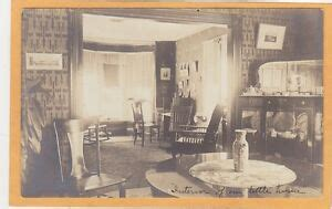 real photo postcard rppc victorian dining room