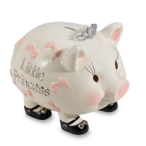toddler piggy bank mud pie 174 baby princess piggy bank buybuybaby