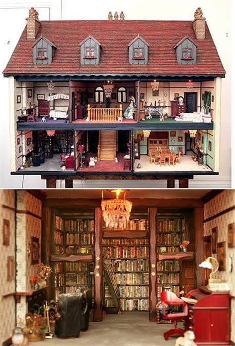 Amazing Blogs On Miniature Dollhouses by 40 Best Dollhouse Installations For Your