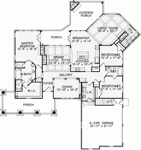 luxury open floor plans awesome one story luxury home floor plans new home plans