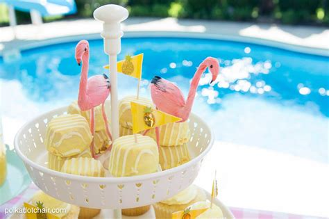 printable summer party decorations summer backyard flamingo pool party ideas the polka dot