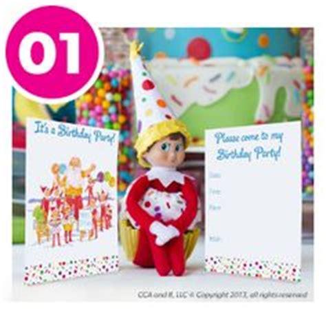 printable birthday card from elf on the shelf happy birthday on pinterest birthday traditions happy