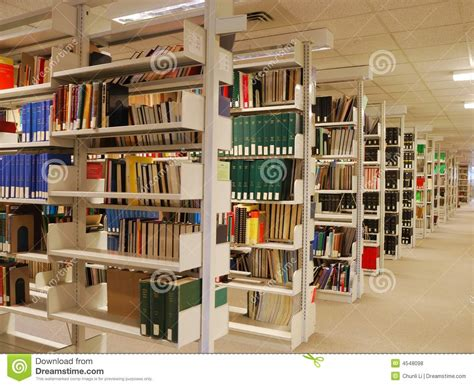 how to shelve library books book shelves in library royalty free stock photos image