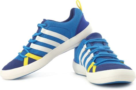 Promo Sneakers Sepatu Casual Adidas Climacool Jawpaw Slip On Biru adidas climacool boat lace outdoors shoes adidas india