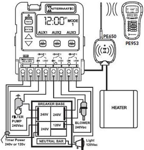 intermatic pool timer wiring diagram pool timer wiring diagram 28 images timer wiring