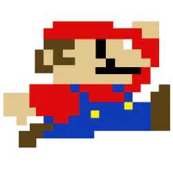 Pixelated Mario Characters Super Mario Pixel Art By Sullyvancraft On Deviantart