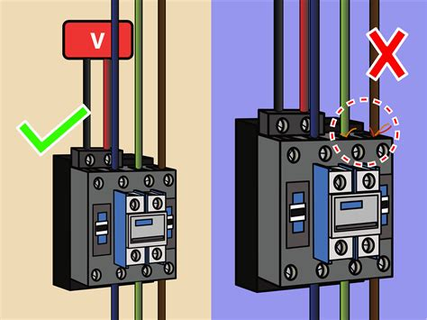 how to wire a contactor 8 steps with pictures wikihow
