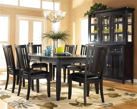 black dining room set dining room furniture with various designs available designwalls