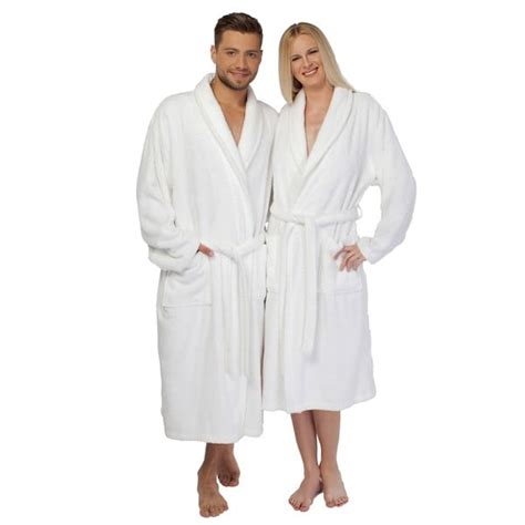 bed bath and beyond bathrobes authentic hotel spa unisex white turkish cotton terry