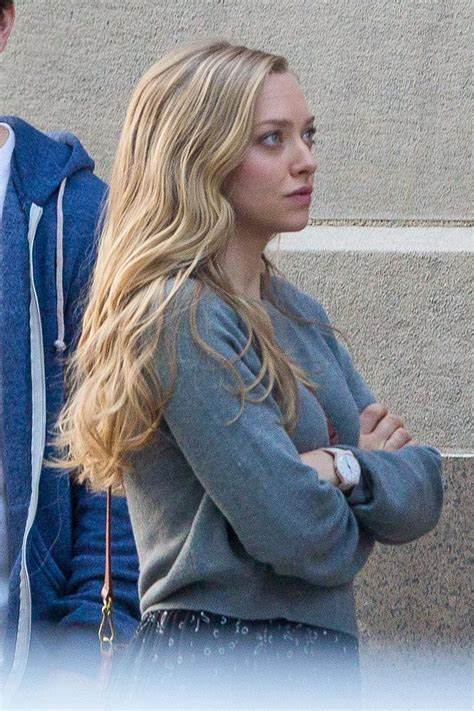 amanda seyfried ted amanda seyfried on the set of ted 2 in boston august