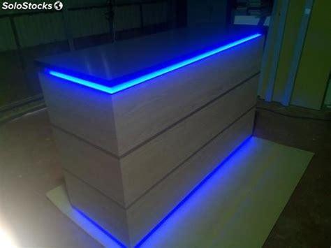 iluminacion rgb mostrador 180x60x105cm con iluminacion led rgb