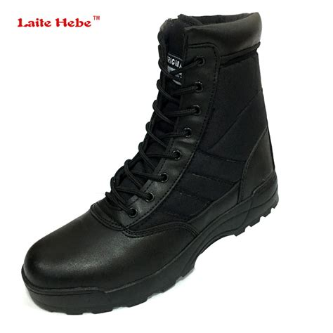 Delta Tactical Boot 1296 laite hebe 2017 new us genuine leather boots for combat delta tactical boots askeri