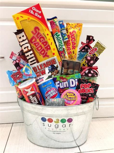 sugar factory to celebrate dads with s day gift basket