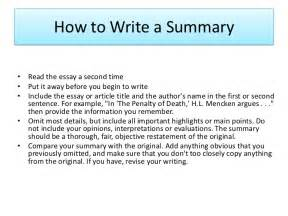 Summarize An Essay by How To Write Summary Of An Article Article Writing Article Writing Summary And
