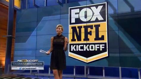 charissa thompson named host of fox nfl kickoff college spun charissa thompson it s a start youtube