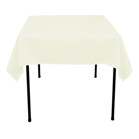 52 square table cloths black 52 x 52 inch square tablecloths